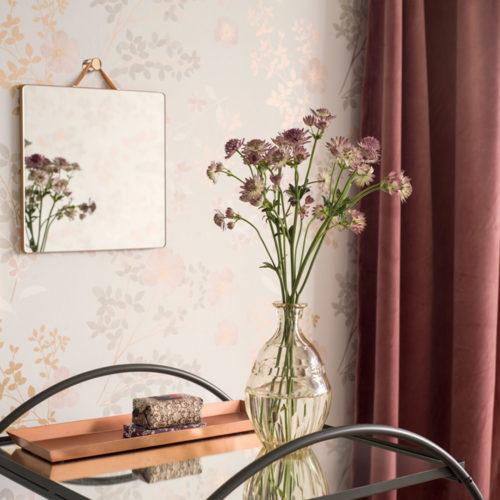 Nordsjö Idé & Design tapet borge Prairie Rose 7231