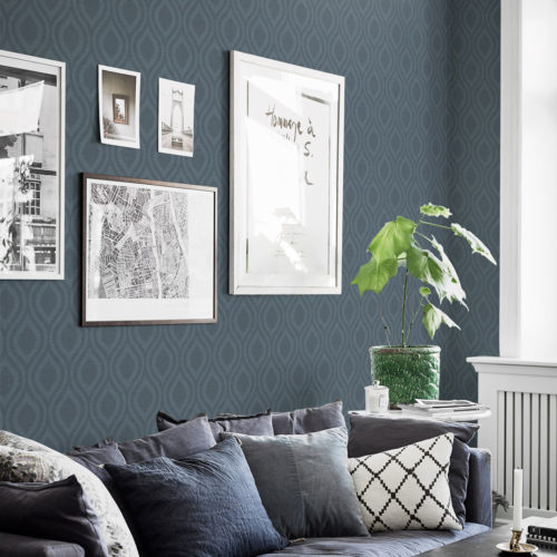 Nordsjö Idé & Design tapet borge swing 6801
