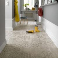 Nordsjö Idé & Design gulv tarkett texstyle almeria fawn