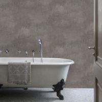 Aqua 4021-4 Concrete taupe, våtromstapet fra Borge